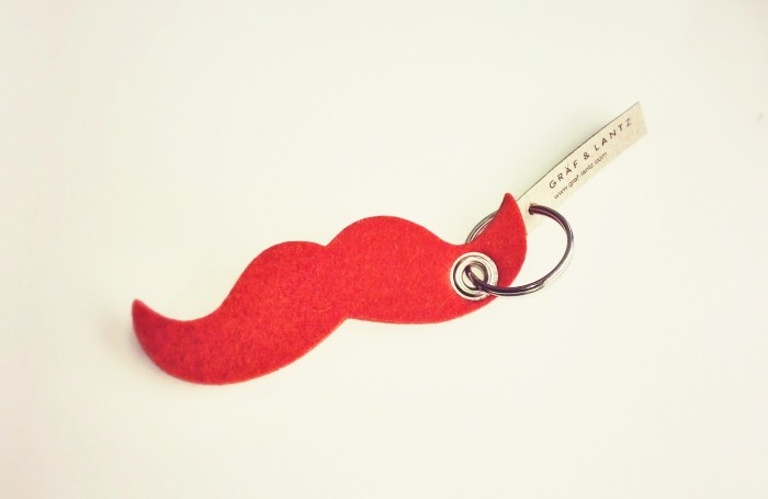 Graf & Lantz Moustache Key Chain