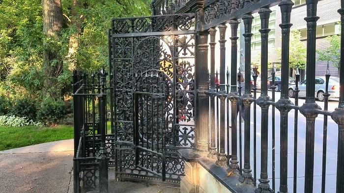 Osgoode Hall gate Toronto Ontario