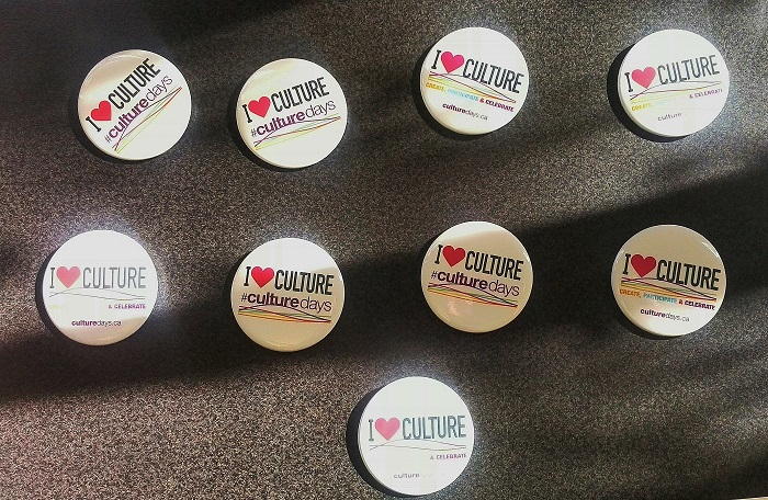 London Ontario Culture Days Buttons for Doors Open London Ontario