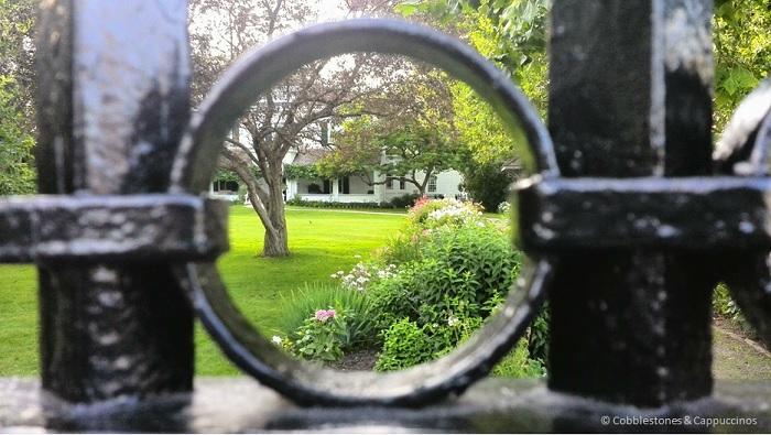 Eldon House garden London Ontario