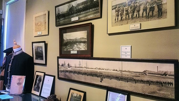 First Hussars WWI photo wall | London Ontario