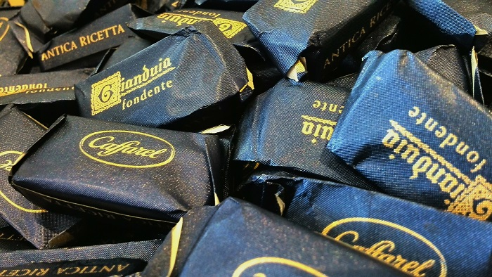 Gianduia Chocolates at Lindt