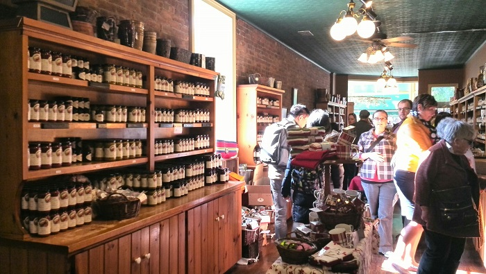 Interior of Greaves Jams in Niagara-on-the-Lake