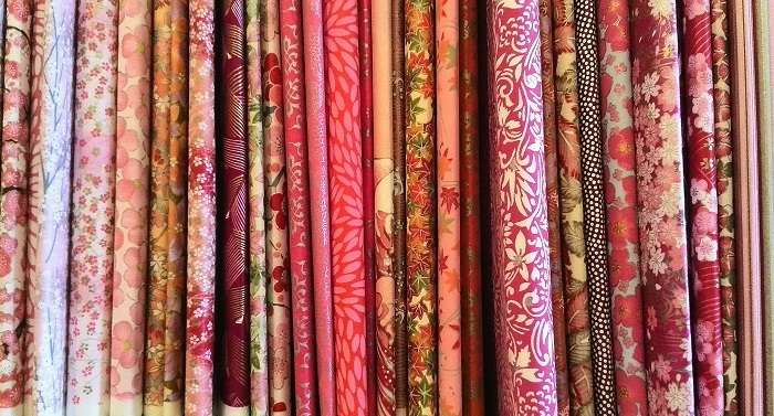 Beautiful craft paper at The Paper Place on Queen St West in Toronto