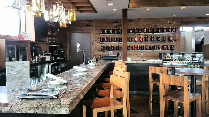 View of Bar at Dolcetto Risto in London Ontario