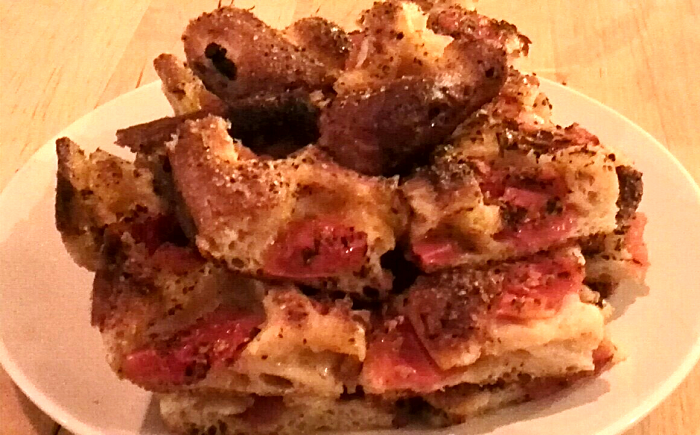 Massimo Bruno Italian Supper Club - Tomato focaccia