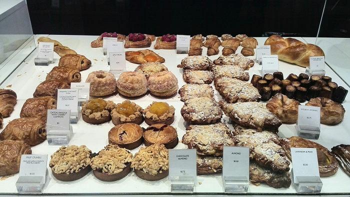 French pastries in Toronto - Nadege Patisserie on Yonge St.