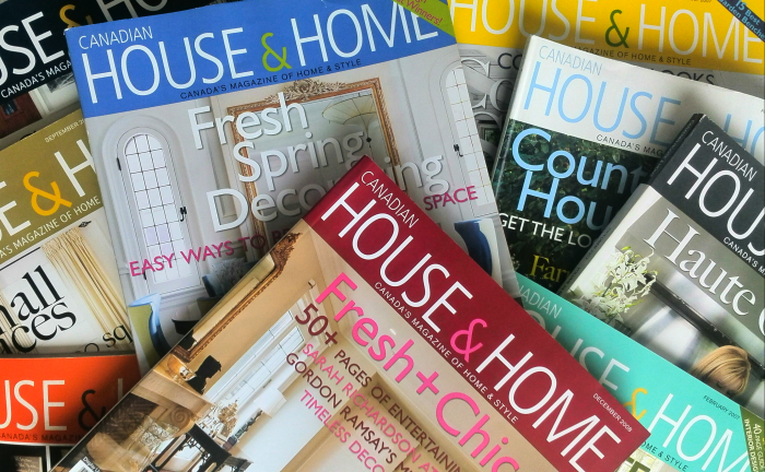 House and Home magazines