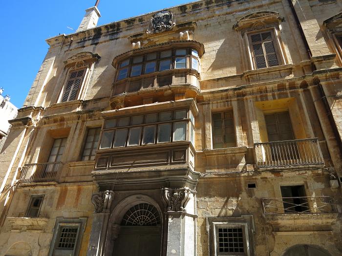 Exterior Building facade Valletta