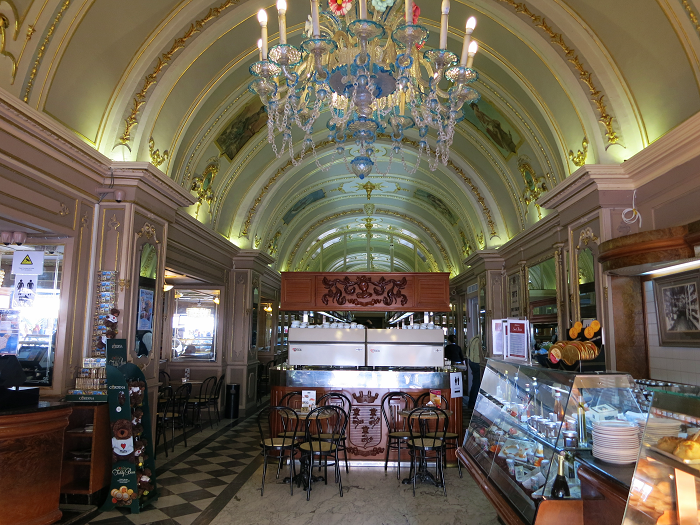 Tea Room Caffe Cordina in Valletta Malta