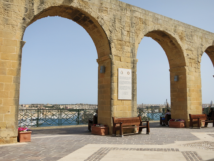 Upper Barrakka Garden Valletta