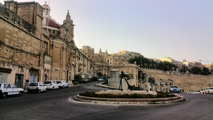 Round about harbourfront Valletta