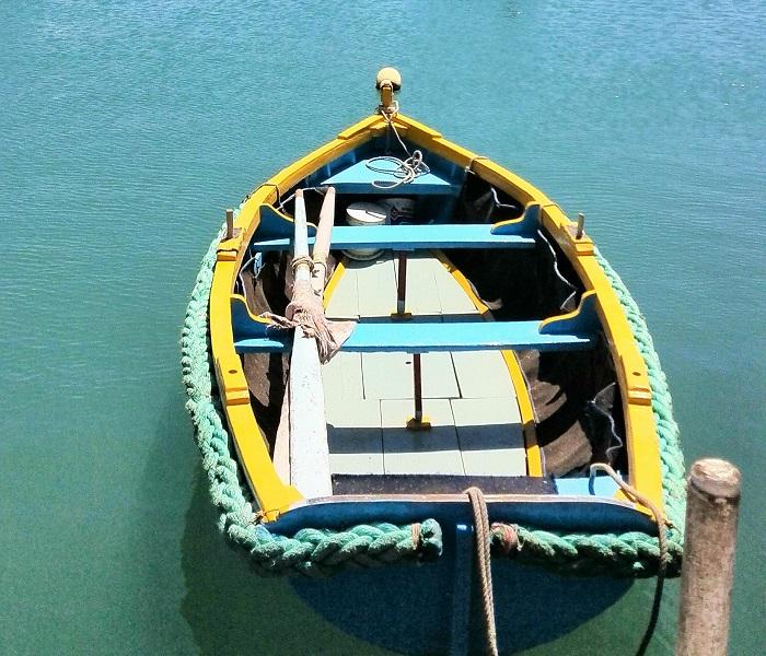 Fishing boat in Marsaxlokk Malta