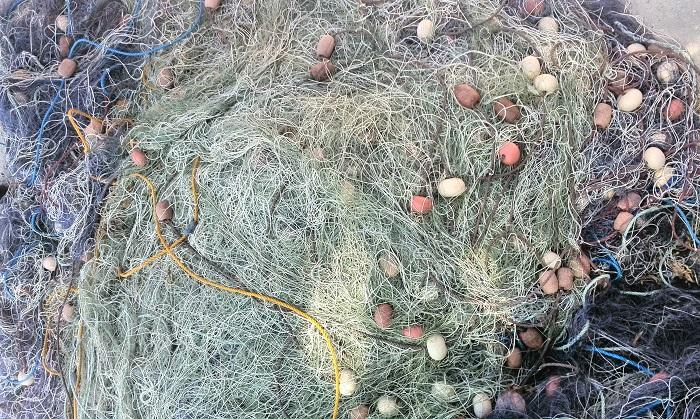 Fishing nets Marsaxlokk Malta