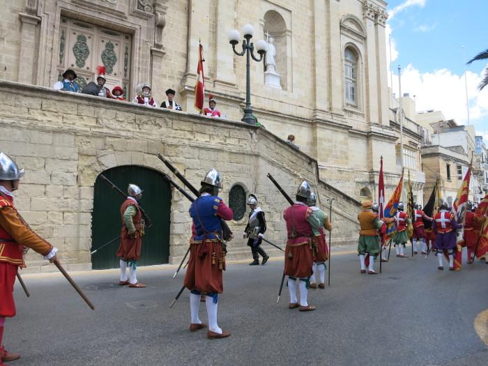 Re-enactment in Birgu (Vittoriosa) Malta