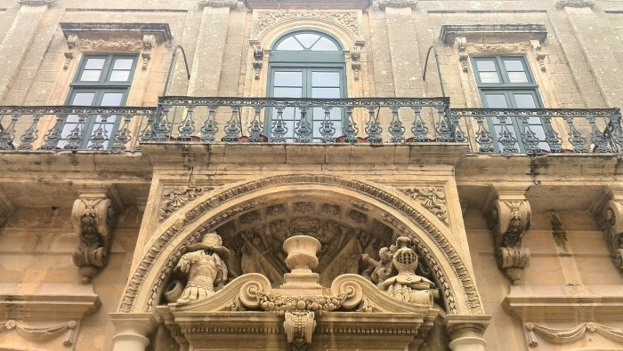 Historic building in Mdina Malta