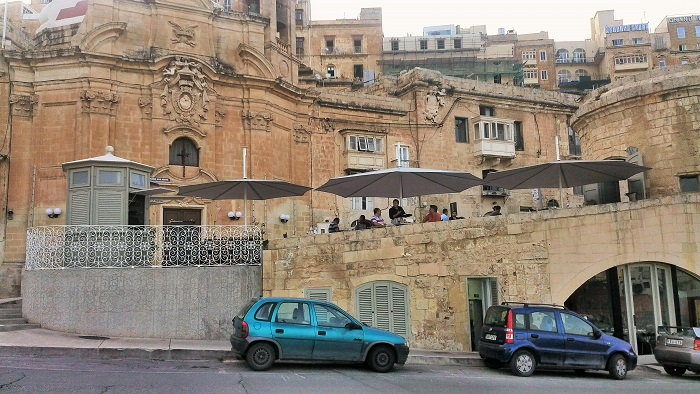 Harbour Club restaurant Valletta Malta