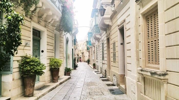 Street-in-Mdina Malta