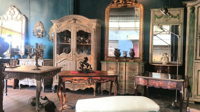Antique furniture at the Marche aux Puces St Ouen | Clignancourt in Paris