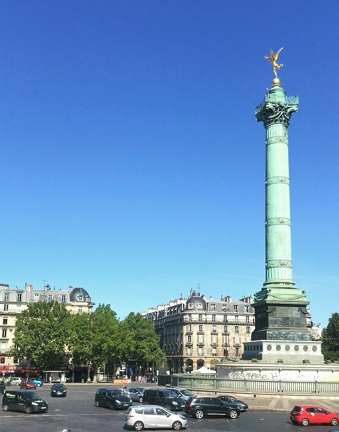 Colonne de Juliet, Place de la Bastille, Paris