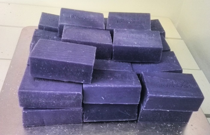 Lavender soap, Steed and Company, Sparta