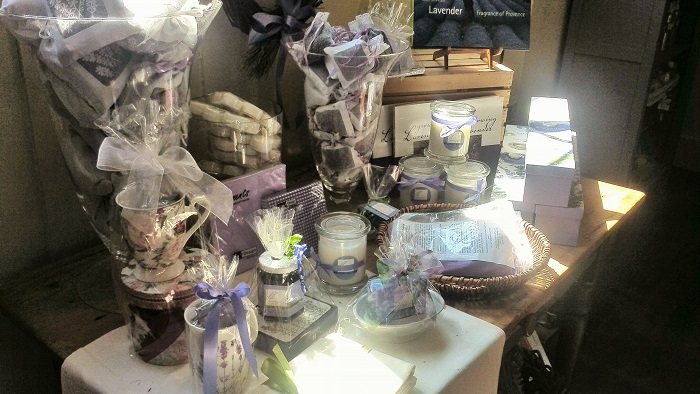 Lavender gift sets, Steed and Company, Sparta