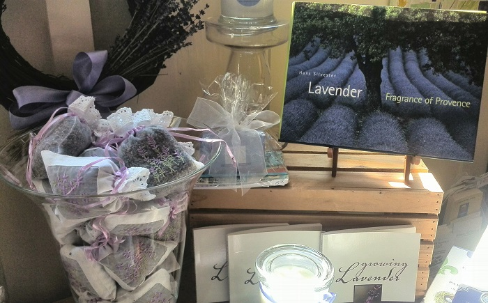 Lavender sachets, Steed and Company, Sparta