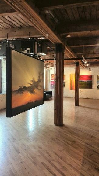 Paintings, Alton Mill Art Centre, Caledon