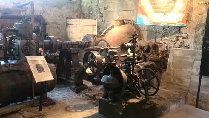 Mill mechanics, Museum, Alton Mill Art Centre, Caledon