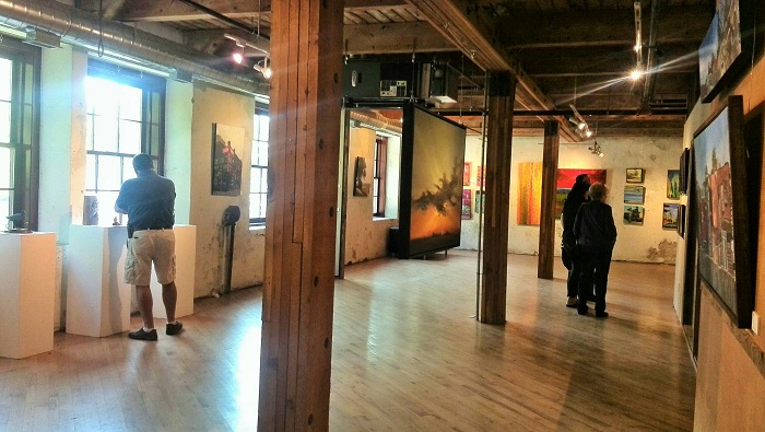 Gallery space, Alton Mill Art Centre, Caledon