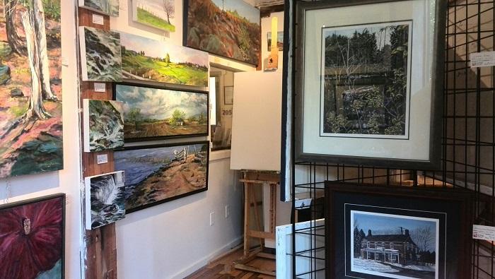 Paintings for sale, Alton Mill Art Centre, Caledon