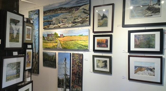 Landscape art, Alton Mill Art Centre, Caledon