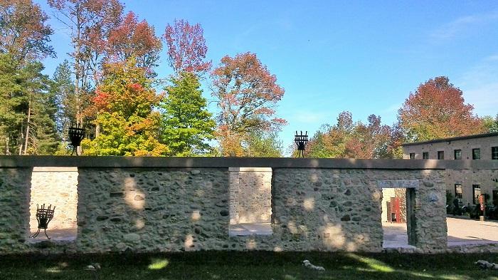 Livery exterior walls, Alton Mill Art Centre, Caledon