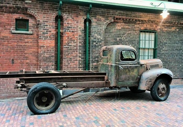 Old truck, Christmas Market, Distillery District, Toronto