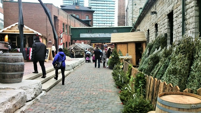 Christmas Market, Distillery District, Toronto