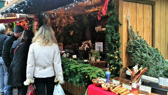 Vendor stall, Christmas Market, Distillery District, Toronto