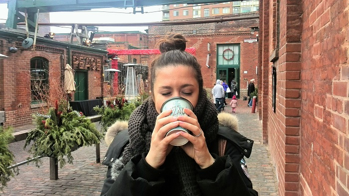 Cobblestones and Cappuccinos, Distillery District, Toronto