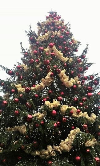 Christmas Tree, Distillery District, Toronto