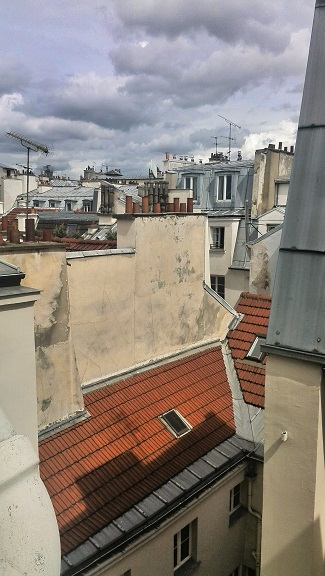 Rooftops, Paris, France