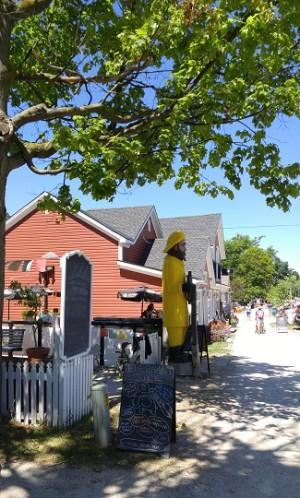 Main street, Bayfield Ontario