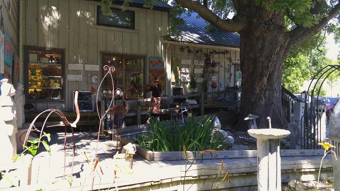 Gallery garden, Bayfield Ontario