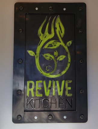 Revive sign, Revive Kitchen, London Ontario