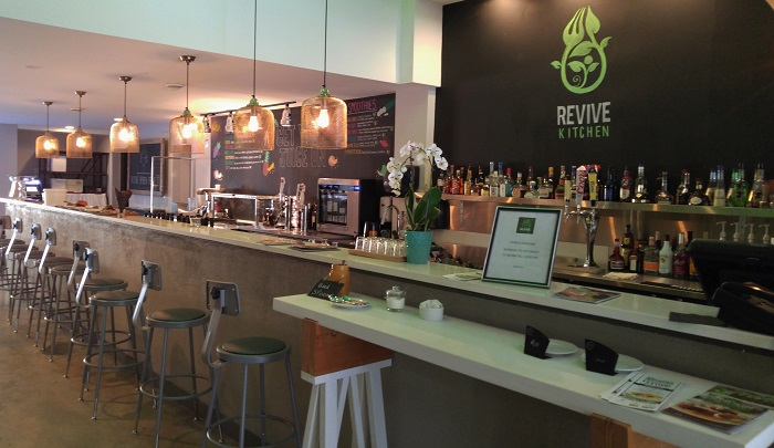 Coffee bar, Revive Kitchen, London Ontario