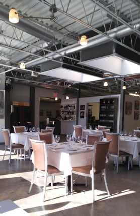 Restaurant interior, Revive Kitchen, London Ontario