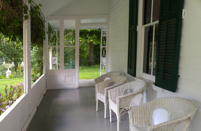 Porch, Eldon House, London, Ontario
