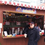 Hot drinks at Christkindl Market in Kitchener