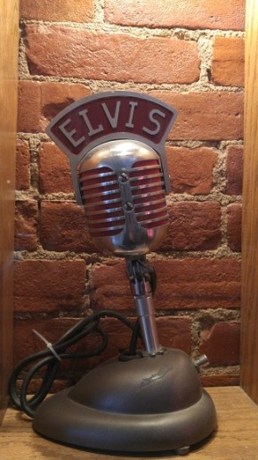 Vintage Elvis Microphone in Retro Suites - Chatham, ON