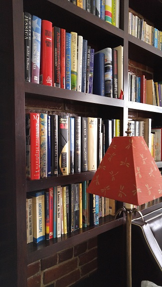 Close up of Books Inside The Study - Retro Suites - Chatham, ON