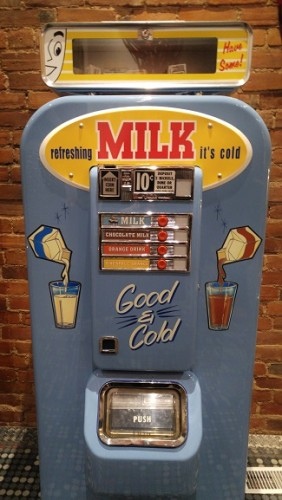 Vintage Milk Dispenser - Retro Suites Decor in Chatham, ON