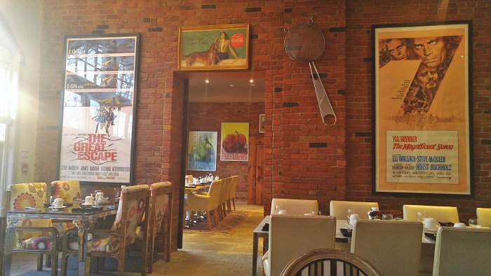 Inside the Chilled Cork restaurant in Chatham, ON